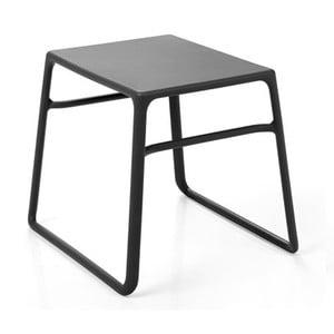 Antracitový zahradní odkládací stolek Nardi Garden Pop