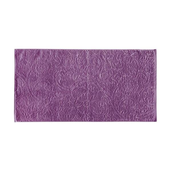 Set 3 ručníků Seaside, fialový