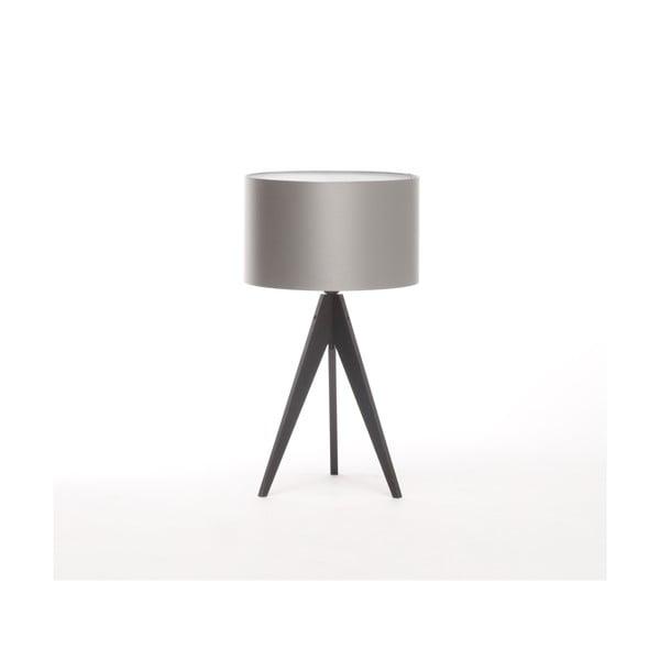 Stolní lampa Artista Black/Silver, 65 cm