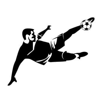 Autocolant Ambiance Football de la Ambiance