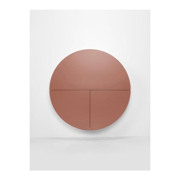 Masă multifuncțională de perete EMKO Pill, roz-alb