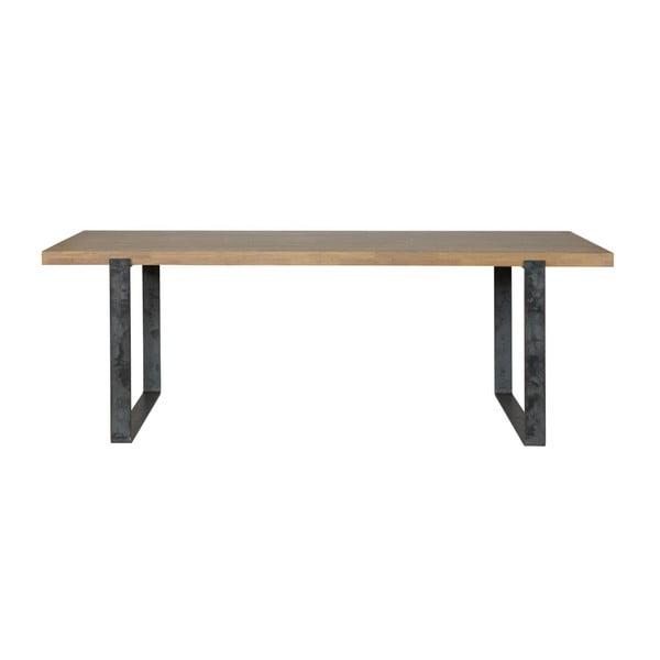 Jídelní stůl s olejovanou deskou z dubového dřeva De Eekhoorn Jamie, 90x200cm
