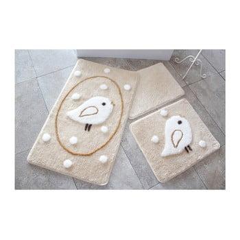 Set 3 covorașe de baie Confetti Bathmats Rock de la Chilai Home by Alessia