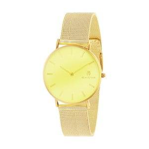 Žlutozlaté dámské hodinky Black Oak Birdie