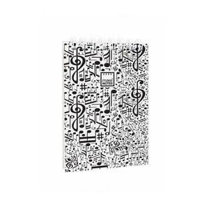 Poznámkový blok Makenotes Music, A7