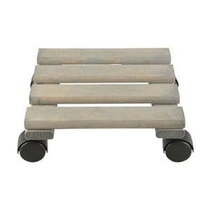 Suport lemn pentru ghiveci flori Esschert Design, lățime 24cm
