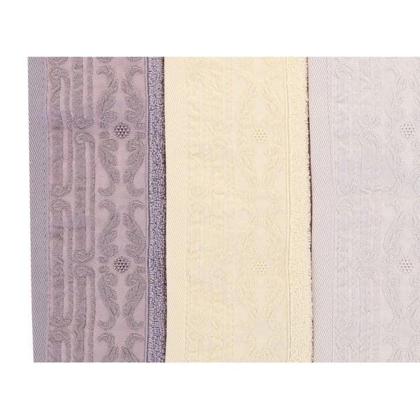 Sada 6 ručníků Zarif, 30x50cm