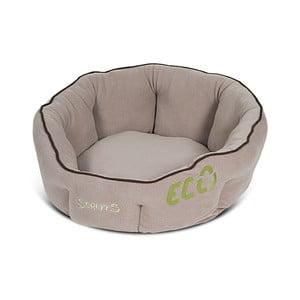Psí pelíšek Eco Donut 45 cm, přírodní