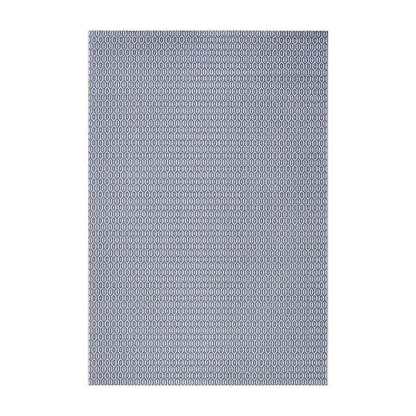 Modrý koberec vhodný aj do exteriéru Meadow, 200×290 cm