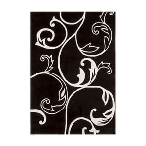 Koberec Asiatic Carpets Eden Emma Black White, 120x180 cm