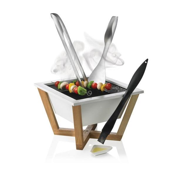 Bílý gril XD Design Nido BBQ