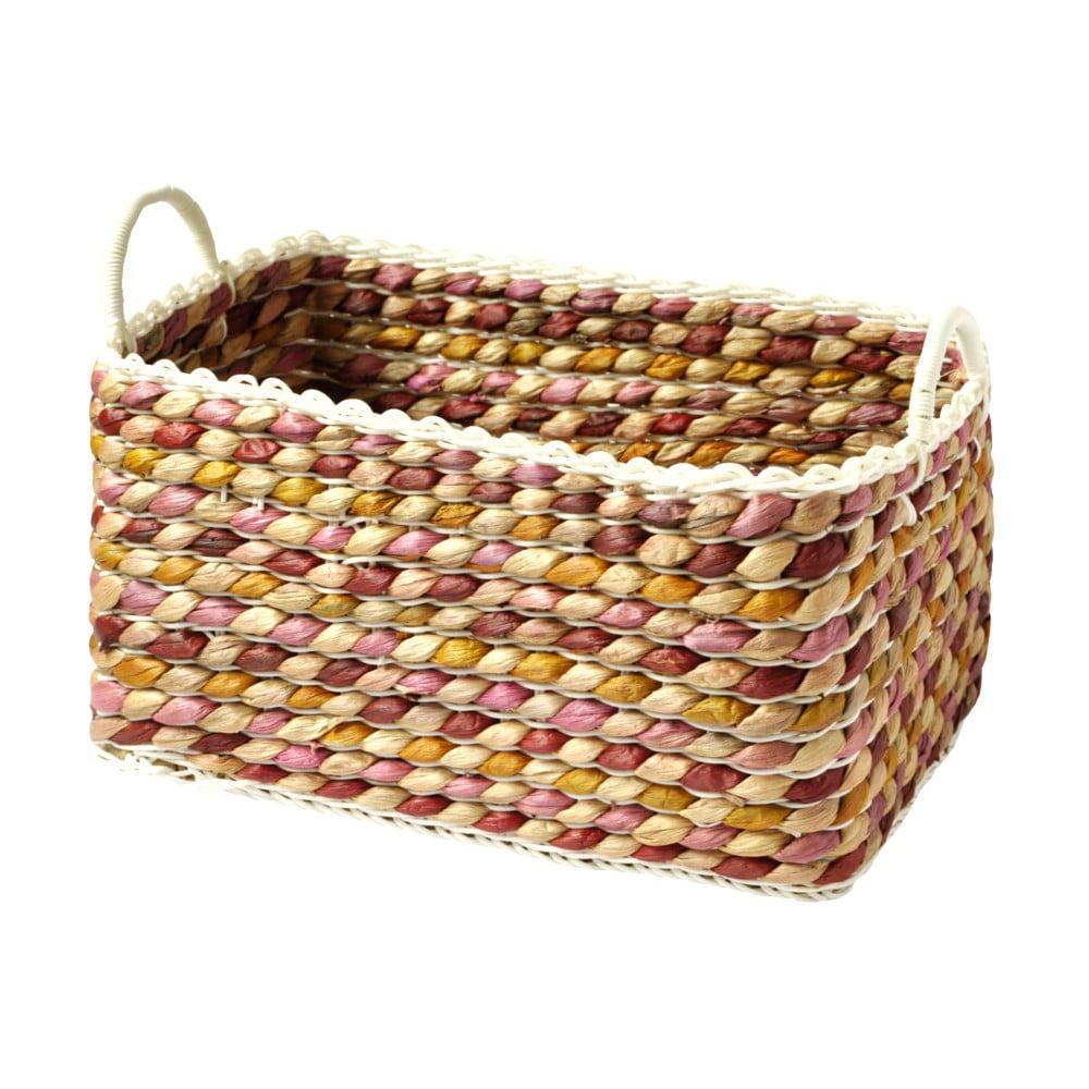 Ručně pletený košík a'miou home Kaleo, 37 x 25 cm
