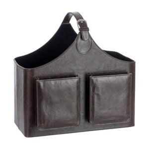 Stojan na časopisy Leather