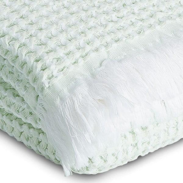 Ručník Whyte 65 x 100 cm, bílý/mátový