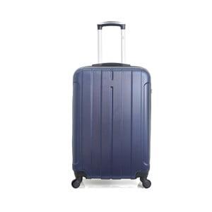 Modrý cestovní kufr na kolečkách Hero Fogo, 60 l