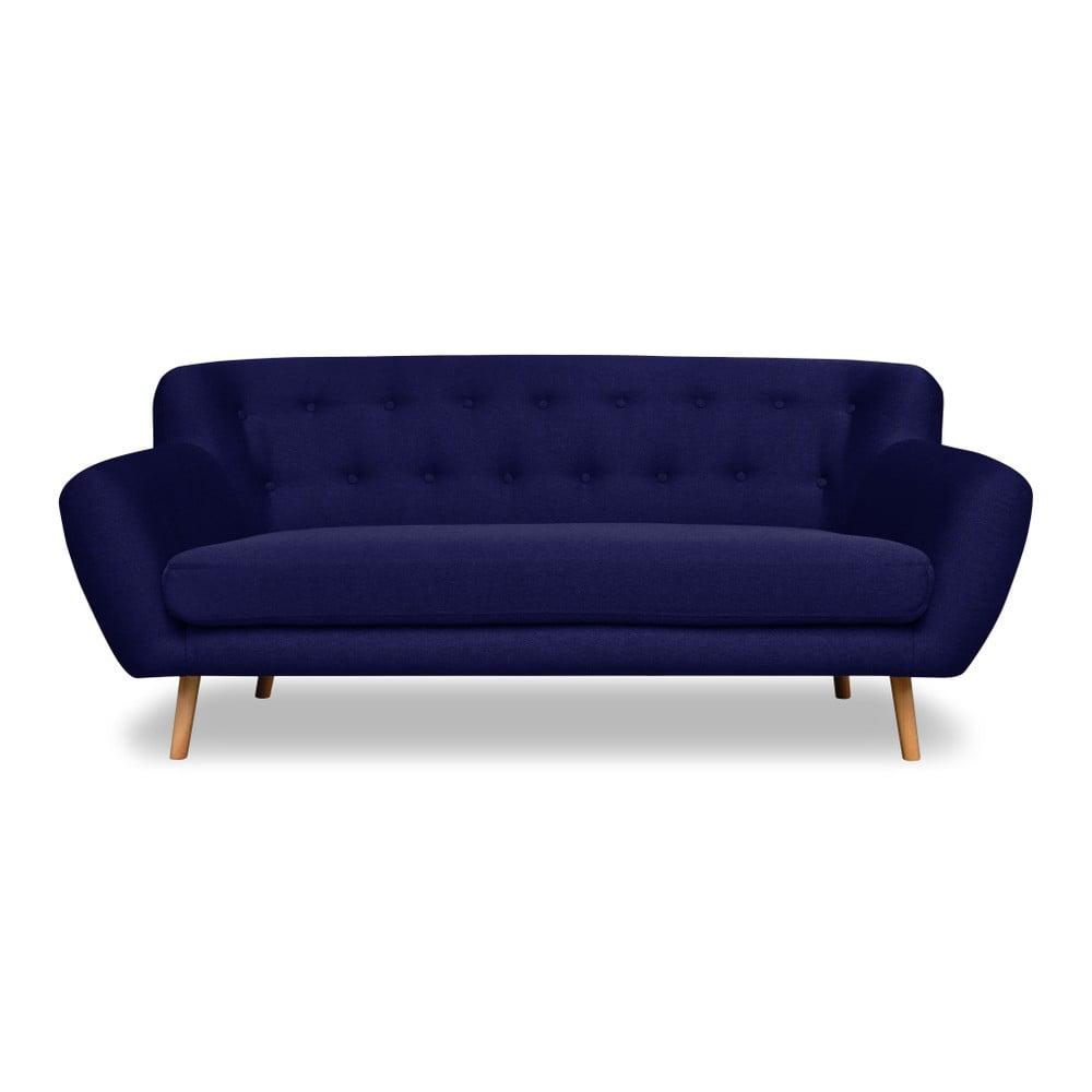 Modrá pohovka pro tři Cosmopolitan design London