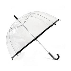 Deštník Clear Slim Trim, black