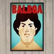 Plakát Balboa, 29,7x42 cm