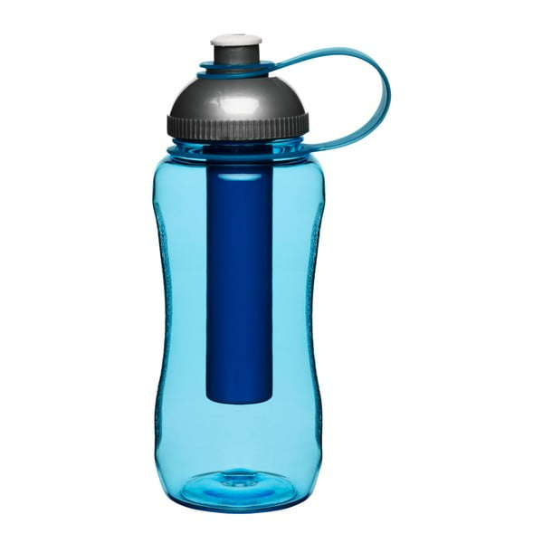 Modrá samochladící lahev Sagaform