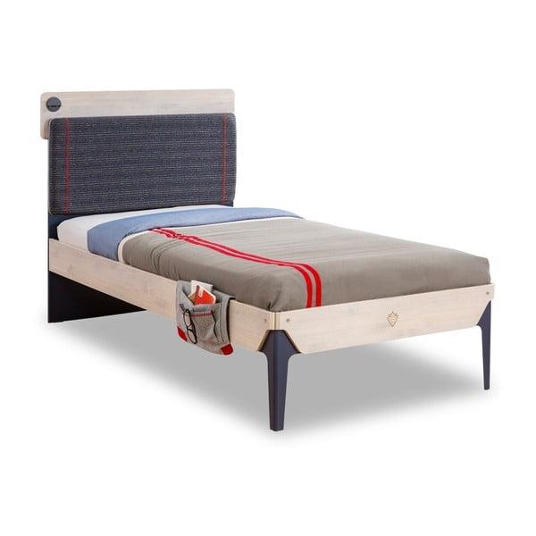 Trio Line Bed egyszemélyes ágy, 100 x 200 cm