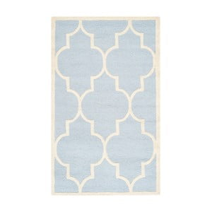 Vlněný koberec Safavieh Lola Sky, 91 x 152 cm