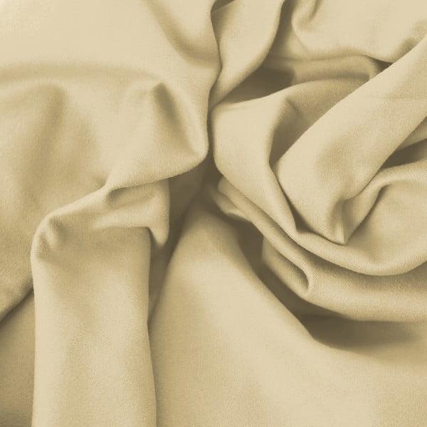 Set béžové rychleschnoucí osušky a ručníku DecoKing EKEA, 70 x 140 cm + 30 x 50 cm
