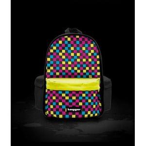 Batoh Principal Multicheck Black and Yellow