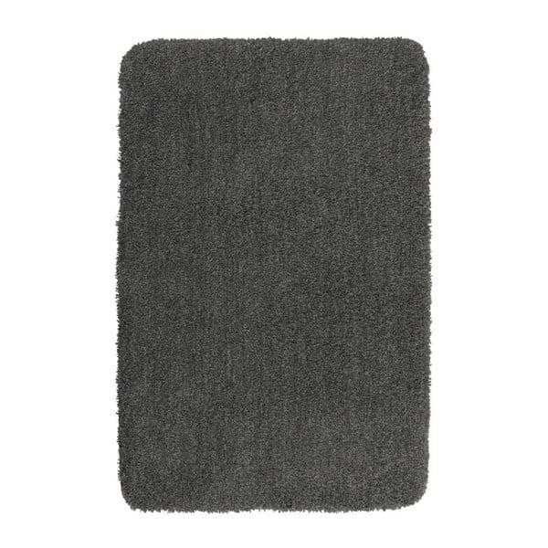 Tmavě šedá koupelnová předložka Wenko Belize, 55x65cm