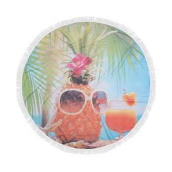 Prosop plajă din bumbac Hawai, ⌀ 150 cm imagine