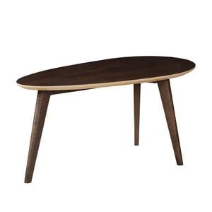 Odkládací stolek z masivního mangového dřeva Woodjam Play Dark Egg