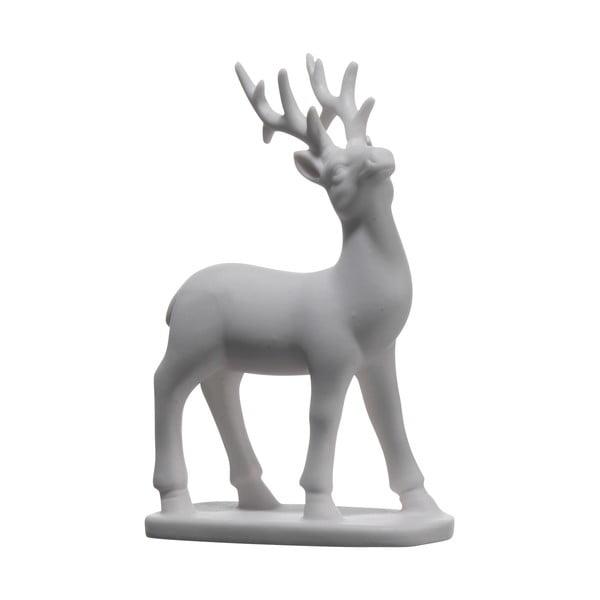 Set dvou keramických jelenů, 13x8,6 cm
