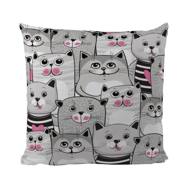 Polštář Butter Kings Grey Kitties