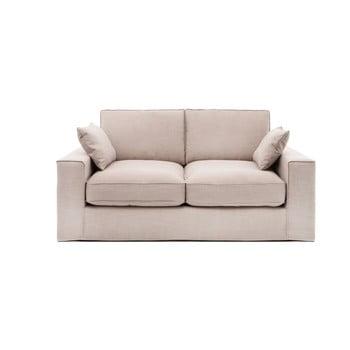 Canapea cu 3 locuri Vivonia Jane, bej de la Vivonita