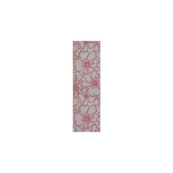 Vysoce odolný oboustranný koberec Flou V2, 60x200 cm