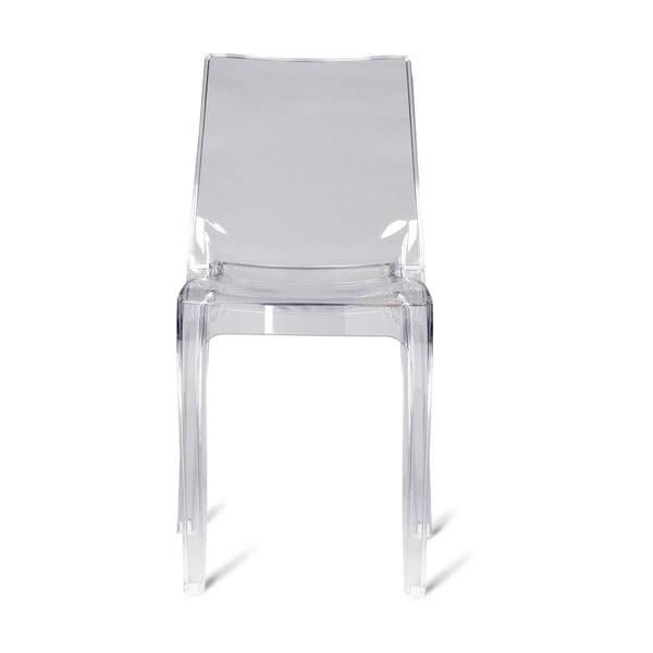 Sada 2 plastových židlí Claudia