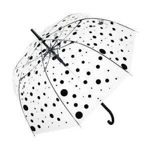 Deštník Blooms of London Black Polka Dot