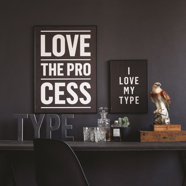 Autorský plakát Process, 50x70 cm