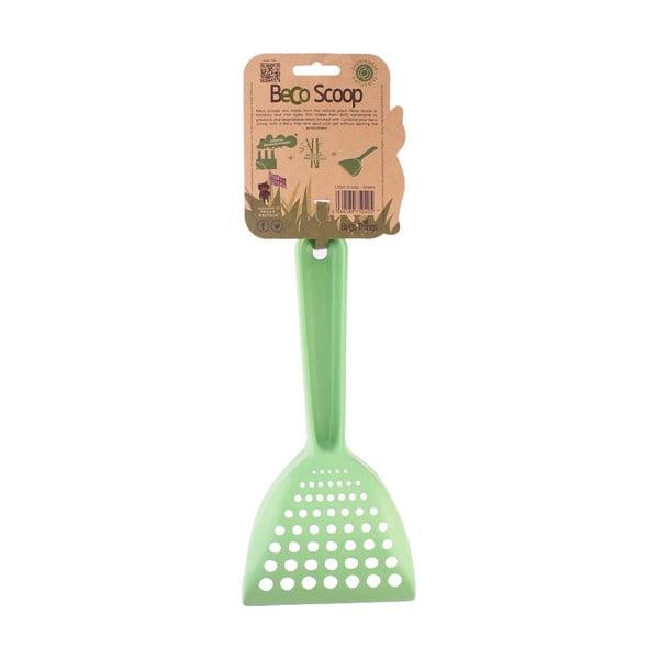 Lopatka na stelivo Beco Scoop Litter, zelená