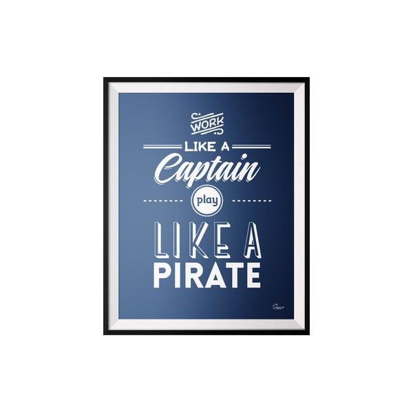 Plakát Captain, 50x70 cm