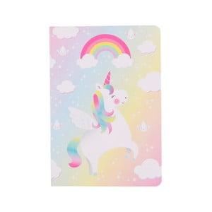 Sešit Sass & Belle Rainbow Unicorn