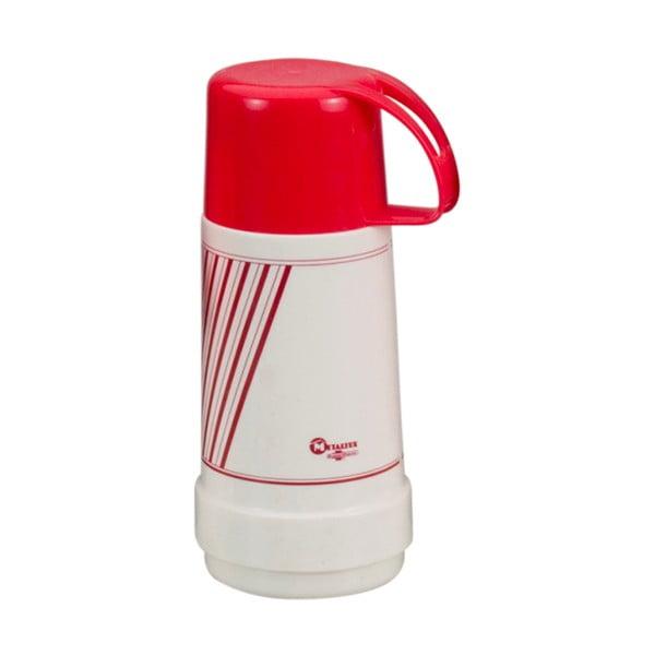 Termos vacuum cu cană Metaltex Flask, 500 ml