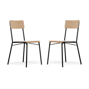 Sada 2 jídelních židlí Woodman Ashburn