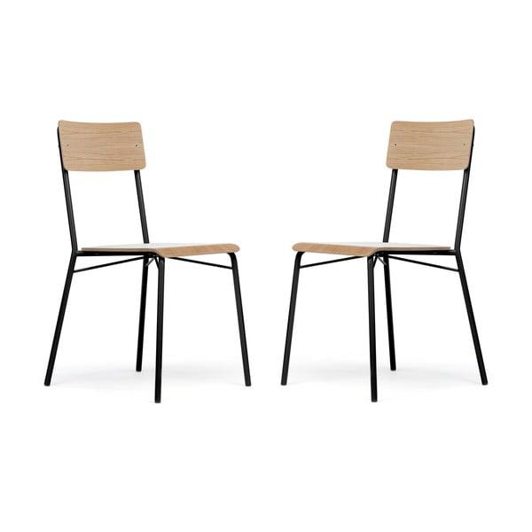 Set 2 scaune Woodman Ashburn