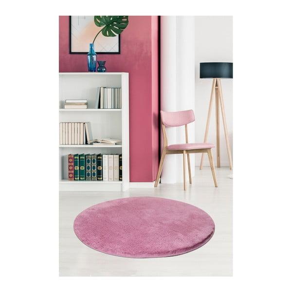 Světle fialový koberec Milano, ⌀90cm