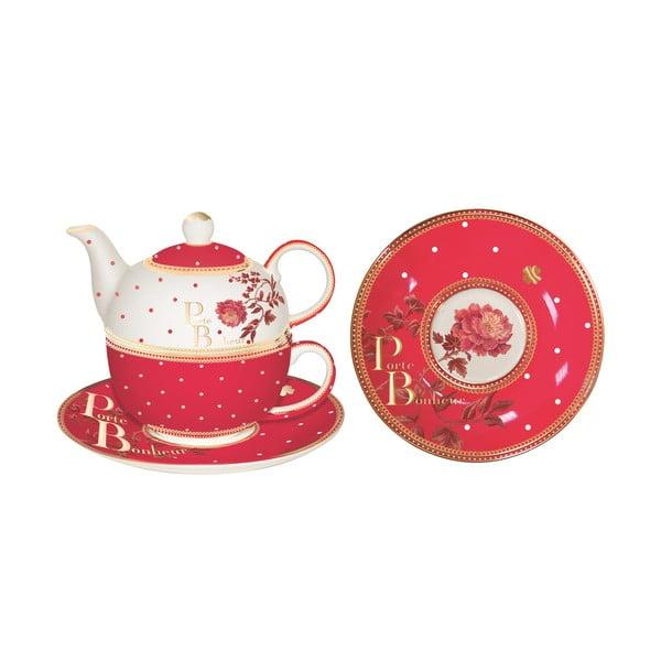 Sada konvičky, hrnku a podšálku Tea for One