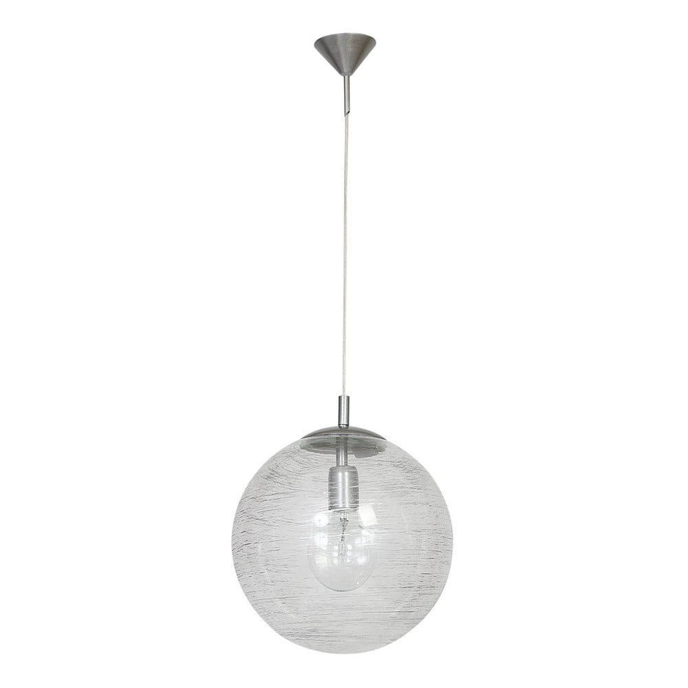 Závěsné svítidlo Glimte Globe Transparent Stripes