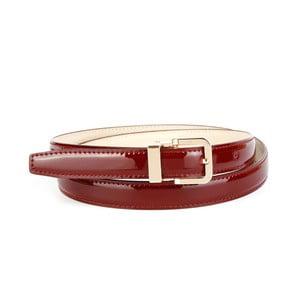 Dámský kožený pásek 4406L Bordaux, 80 cm