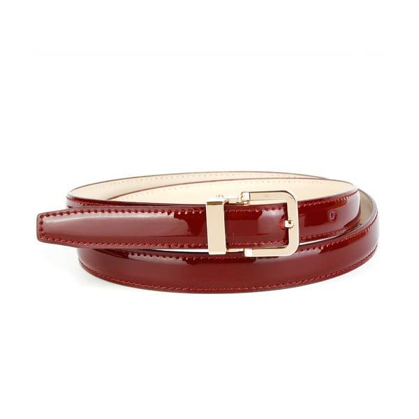 Dámský kožený pásek 4406L Bordaux, 90 cm