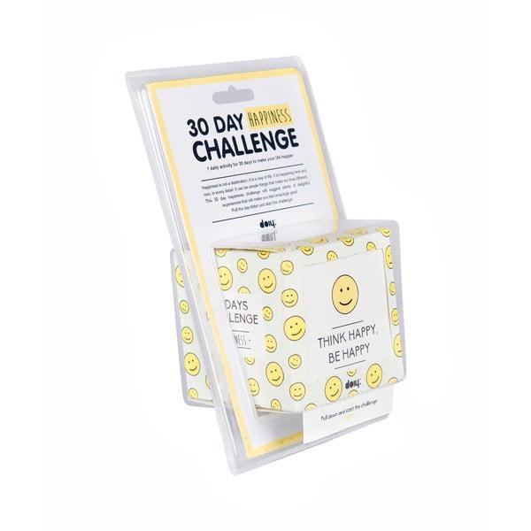 30denní výzva pro štěstí DOIY Thinks Happy
