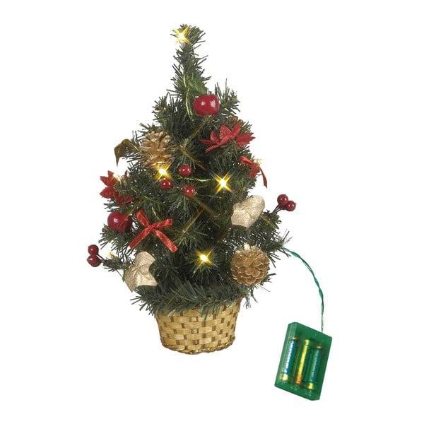 Svítící dekorace Tree in Basket